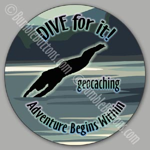Geocaching - dive for it!