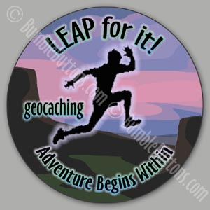 Geocaching - leap for it!