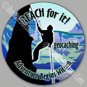 Geocaching - reach for it!